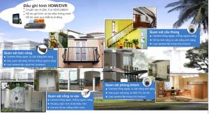 Công trình lắp đặt hệ thống giám sát nhà biệt thự tại Mỹ Đình II – Giải pháp lắp camera cho nhà biệt thự